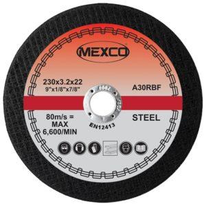 230mm Abrasive Wheel Flat Cutting - Metal